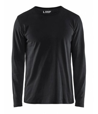 Blaklader Blåkläder 3500 T-shirt lange mouw Zwart