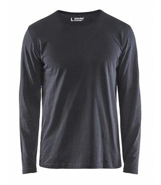 Blaklader Blåkläder 3500 T-shirt lange mouw Donkergrijs