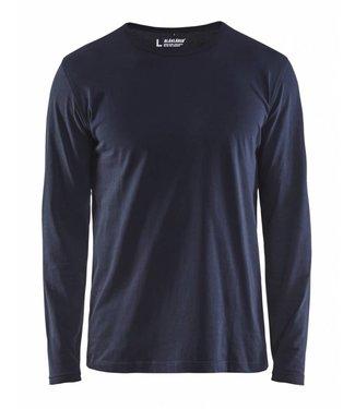 Blaklader Blaklader 3500 T-shirt lange mouw Marineblauw