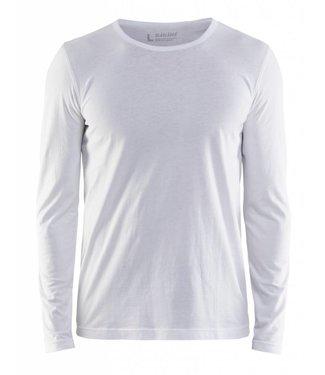Blaklader Blaklader 3500 T-shirt lange mouw Wit