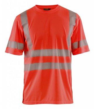 Blaklader Blåkläder 3420 T-shirt High Vis Fluor Rood