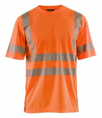 Blaklader Blaklader 3420 T-shirt High Vis Oranje