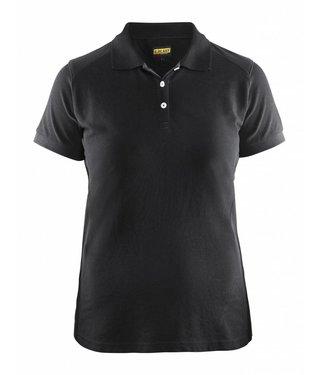 Blaklader Blåkläder 3390 Dames Poloshirt Piqué Zwart