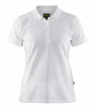 Blaklader Blåkläder 3390 Dames Poloshirt Piqué Wit