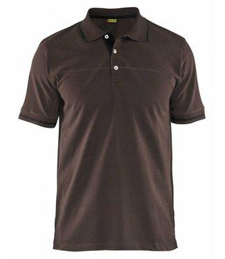 Blaklader Blåkläder 3389 Poloshirt Bruin/Zwart