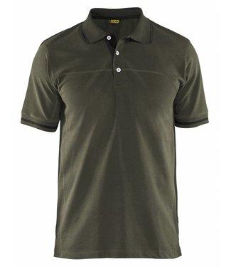 Blaklader Blaklader 3389 Poloshirt Groen/Zwart