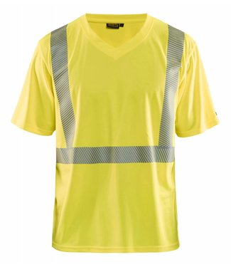 Blaklader Blåkläder 3386 T-shirt High Vis Geel