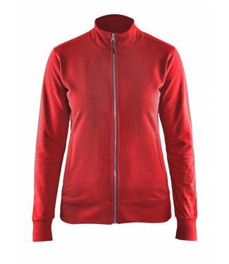 Blaklader Blåkläder 3372 Dames Sweatshirt Rood