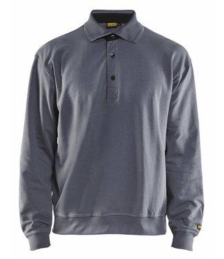 Blaklader Blaklader 3370 Polo Sweatshirt Grijs