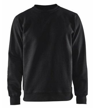 Blaklader Blåkläder 3364 Sweatshirt Jersey Ronde Hals Zwart