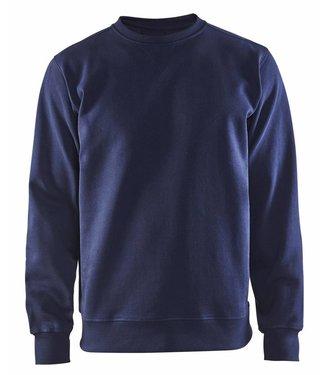 Blaklader Blaklader 3364 Sweatshirt Jersey Ronde Hals Marineblauw