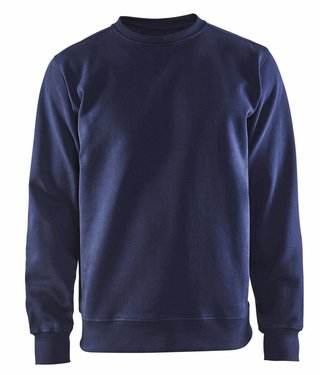 Blaklader Blåkläder 3364 Sweatshirt Jersey Ronde Hals Marineblauw