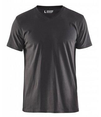 Blaklader Blåkläder 3360-1029 T-Shirt, V-hals Donkergrijs
