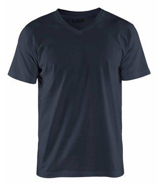 Blaklader Blåkläder 3360-1029 T-Shirt, V-hals Donker Marine
