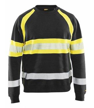 Blaklader Blaklader 3359 Sweater High Vis Zwart/Geel