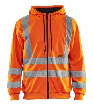 Blaklader Blaklader 3346 Hooded Sweatshirt High Vis Oranje