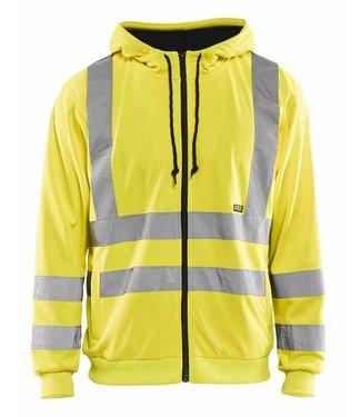 Blaklader Blaklader 3346 Hooded Sweatshirt High Vis Geel