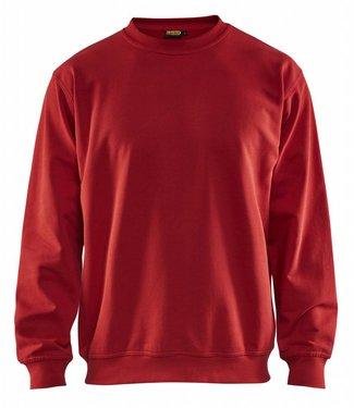 Blaklader Blåkläder 3340 Sweatshirt Rood