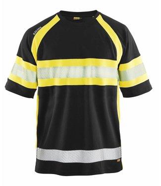 Blaklader Blåkläder 3337 T-shirt High Vis Zwart/Geel