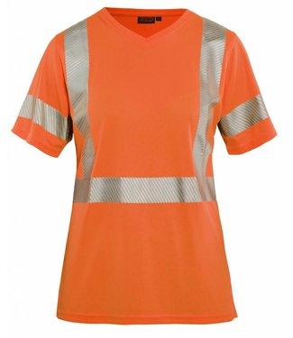 Blaklader Blåkläder 3336 Dames High Vis T-shirt Oranje