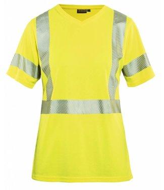 Blaklader Blaklader 3336 Dames High Vis T-shirt Geel