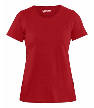 Blaklader Blaklader 3334 Dames T-shirt Rood