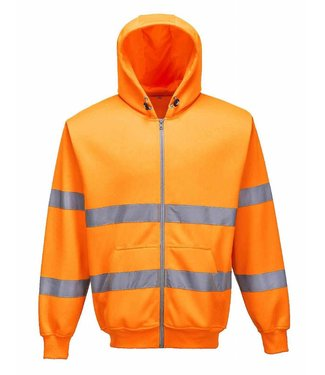 Portwest Portwest B305 Hi-Vis Hooded Sweatvest