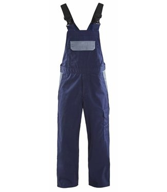 Blaklader Blåkläder 2664 Bretelbroek Industrie Marineblauw/Grijs