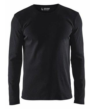 Blaklader Blåkläder 3314 T-shirt lange mouw Zwart