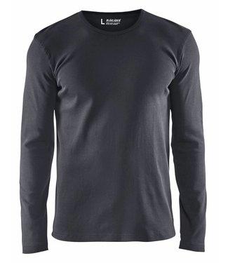 Blaklader Blåkläder 3314 T-shirt lange mouw Donkergrijs