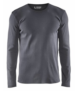 Blaklader Blåkläder 3314 T-shirt lange mouw Grijs