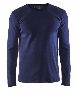 Blaklader Blåkläder 3314 T-shirt lange mouw Marineblauw