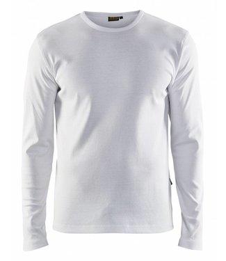 Blaklader Blåkläder 3314 T-shirt lange mouw Wit