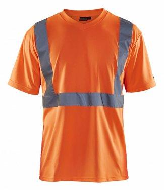 Blaklader Blaklader 3313 T-Shirt High Vis Oranje