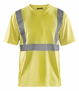 Blaklader Blaklader 3313 T-Shirt High Vis Geel
