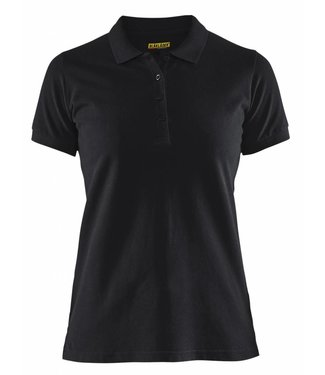 Blaklader Blaklader 3307 Dames Poloshirt piqué Zwart