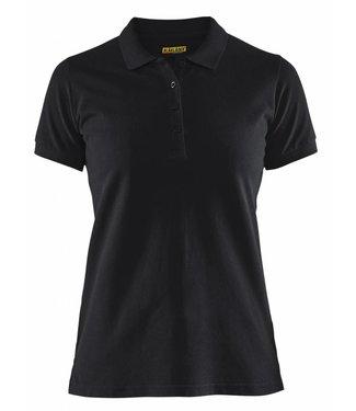 Blaklader Blåkläder 3307 Dames Poloshirt Piqué Zwart