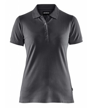 Blaklader Blåkläder 3307 Dames Poloshirt Piqué Donkergrijs