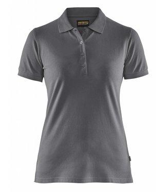Blaklader Blåkläder 3307 Dames Poloshirt Piqué Grijs