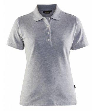 Blaklader Blaklader 3307 Dames Poloshirt piqué Grijs Mêlee