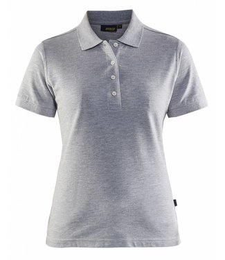 Blaklader Blåkläder 3307 Dames Poloshirt Piqué Grijs Mêlee