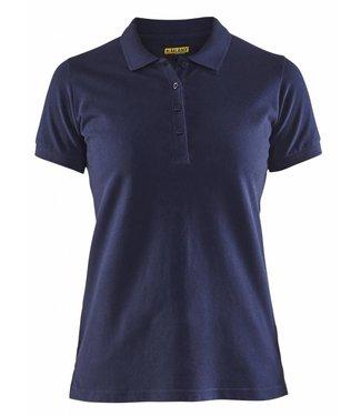 Blaklader Blåkläder 3307 Dames Poloshirt Piqué Marineblauw