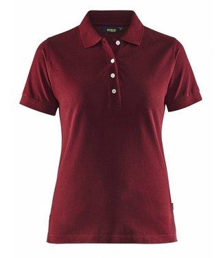 Blaklader Blåkläder 3307 Dames Poloshirt Piqué Bordeaux