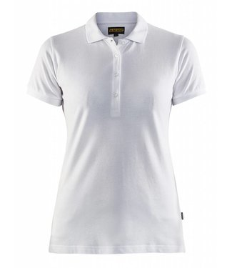 Blaklader Blaklader 3307 Dames Poloshirt piqué Wit