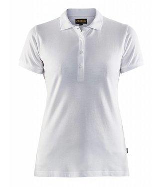 Blaklader Blåkläder 3307 Dames Poloshirt Piqué Wit