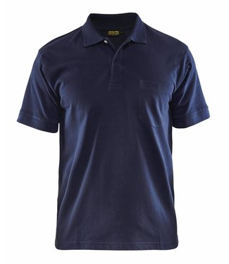 Blaklader Blaklader 3305 piqué Polo Marineblauw