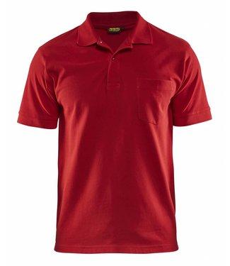 Blaklader Blåkläder 3305 Piqué Polo Rood
