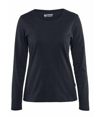Blaklader Blaklader 3301 Dames T-shirt met lange mouw Donkermarine