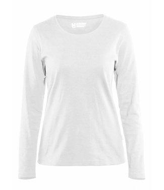 Blaklader Blaklader 3301 Dames T-shirt met lange mouw Wit