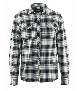 Blaklader Blåkläder 3299 Overhemd Flanel Zwart/Off-white